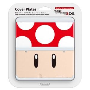 Cubierta Toad rojopara New Nintendo 3DS