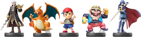 Nuevas figuras amiibo Smash Bros