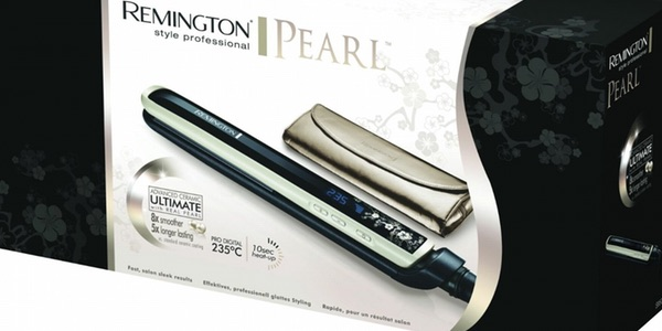plancha de pelo Remington S9500 Pearl