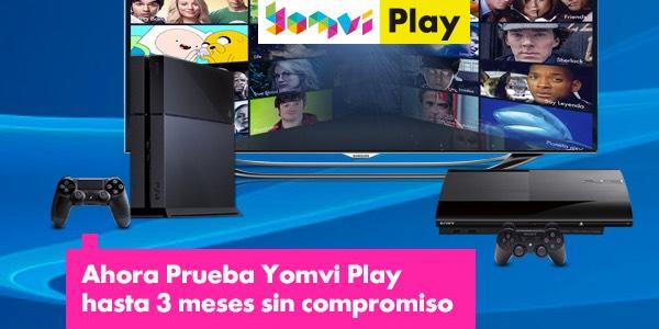 Yomvi Play Gratis PS4