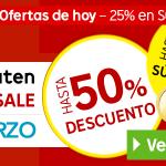 Rakuten Super Sale 27-03-2015