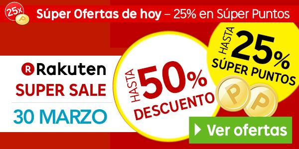 Rakuten Super Sale 30-03-2015