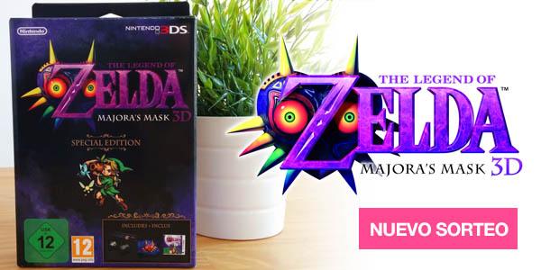 Sorteo Zelda edición especial nintendo 3ds