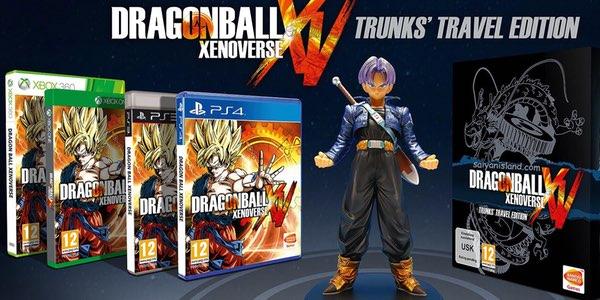 Dragonball Xenoverse Edición Figura de Trunks