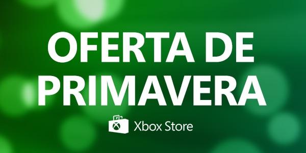 Ofertas de primavera Xbox