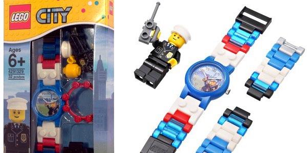 Reloj LEGO City policía
