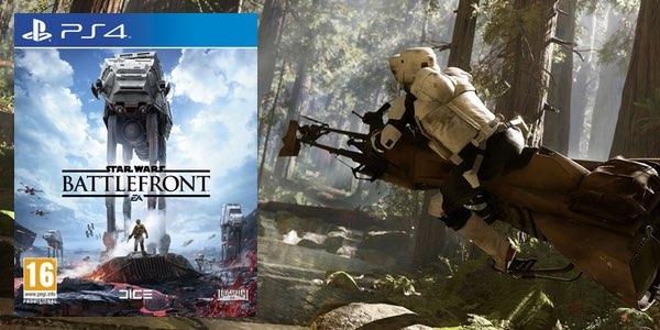 Battlefront PS4 barato