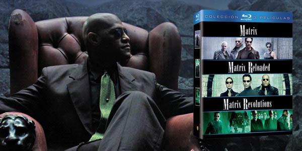 Trilogía Matrix Blu-ray barata
