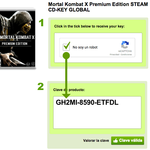 obtener código Steam G2A