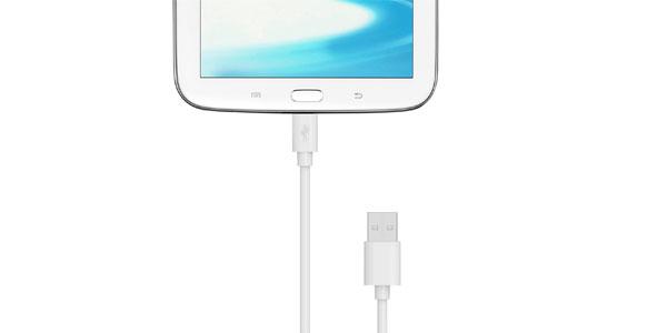 Cable micro USB para cargar móviles y tablets de Aukey