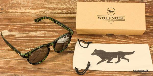 La cuidada presentación de las gafas Wolfnoir también es parte de su éxito