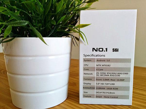 Caja del NO1 S6i