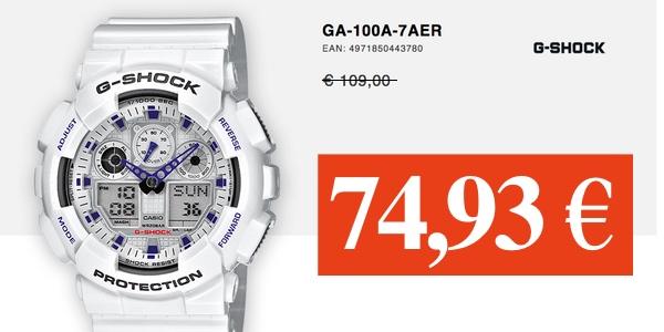 CASIO G-Shock GA-100A-7AER barato