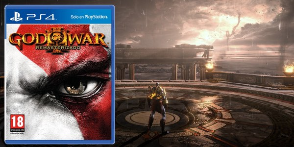 God of War 3 Remasterizado barato