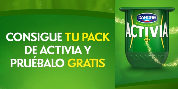 Yogures Activia gratis