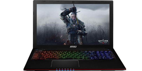 Portátil gamer MSI al mejor precio