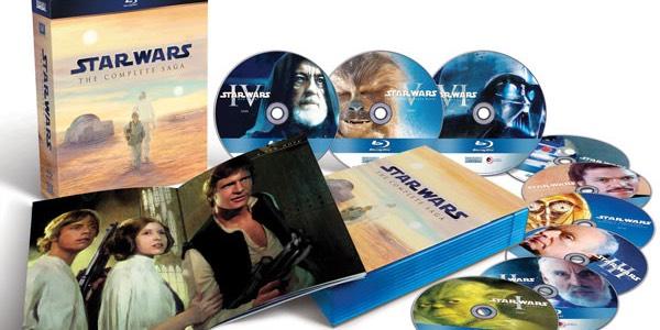 Saga Star Wars Blu-ray barata