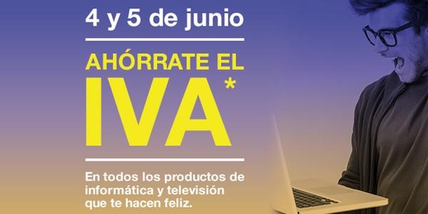 Día Sin IVA FNAC junio 2015