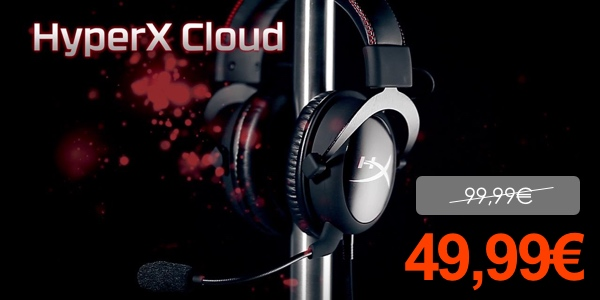 Auriculares HyperX Cloud baratos