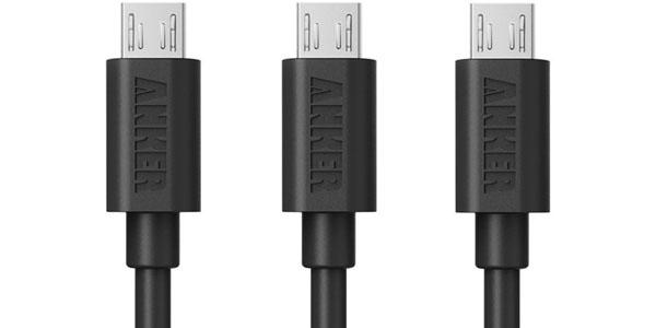 Cables USB baratos en Amazon España