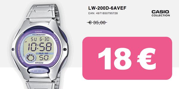 Casio LW-200D-6AVEF barato