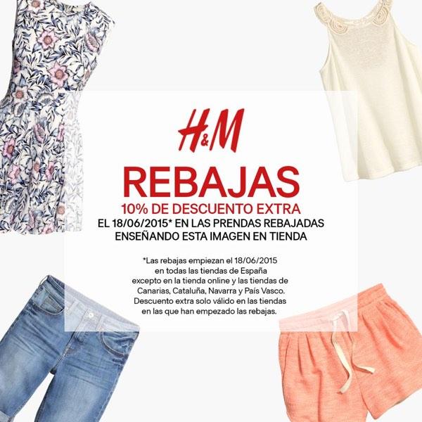 Cupón descuento H&M