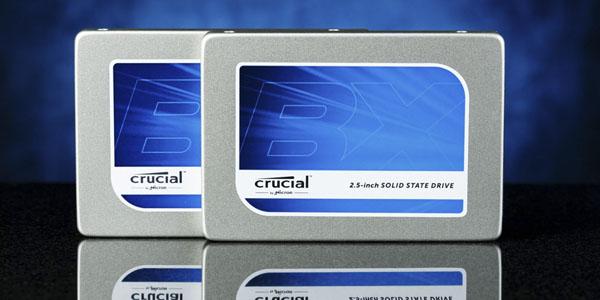 Disco SSD Crucial BX100 de 256GB
