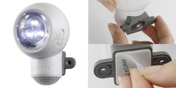 LED Osram Spylux con sensor de movimiento
