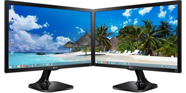 monitor lg 22m47vq-p dual head