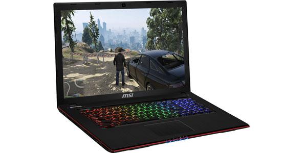 Oferta portátil gamer MSI GE60 en PcComponentes