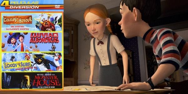 Oferta pack DVD Animación
