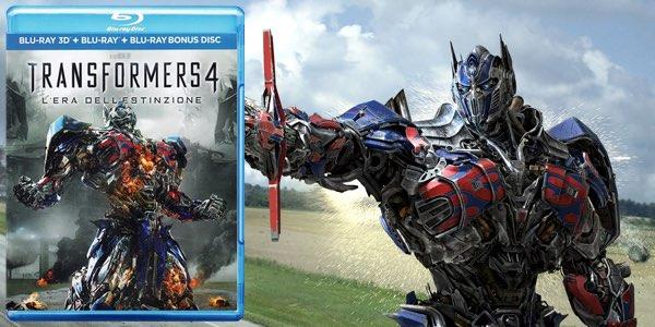 Transformers 4 Blu-ray 3D barato