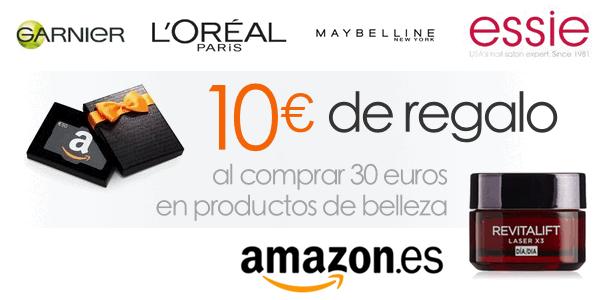 10 euros regalo belleza Amazon España