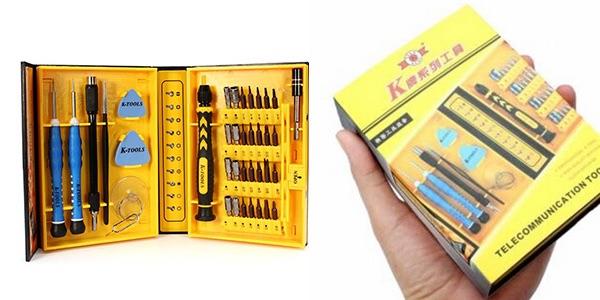 herramientas para reparar móviles y tablets