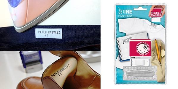 cómo marcar ropa y libros