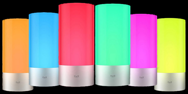 Espectro colores lámpara Xiaomi Yeelight
