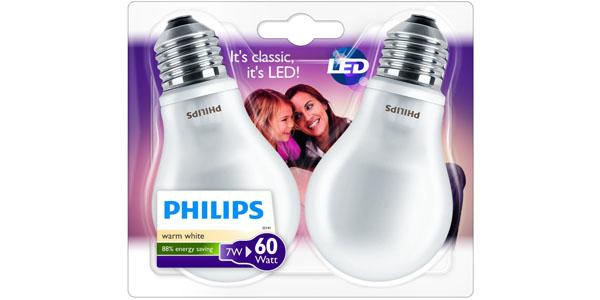 bombillas led clasicas philips 92900115643 e27 blister