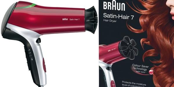 Oferta secador Braun HD 750