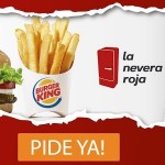 Burger King a domicilio La Nevera Roja