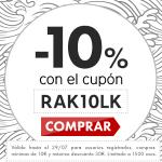 ofertas en Rakuten con cupón descuento