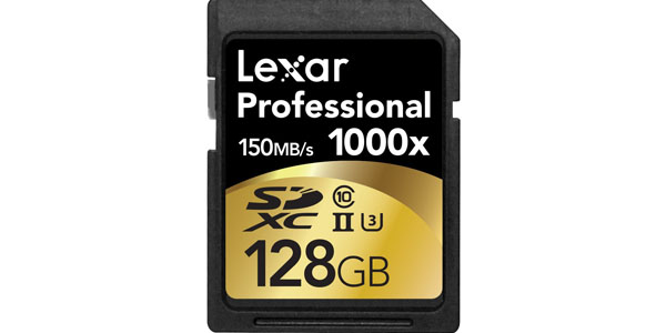 Lexar sdxc 128gb 1000x clase10 uhs-II