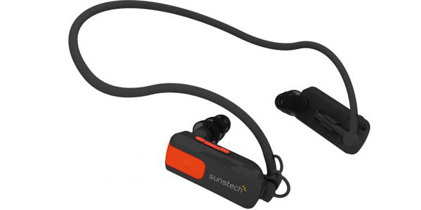 mp3 acuatico natacion sunstech triton negro