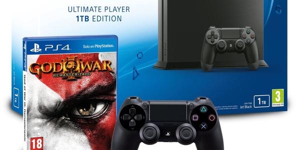 Chollo PS4 1TB al mejor precio