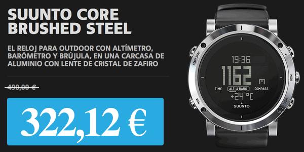 Suunto Core Brushed Steel barato