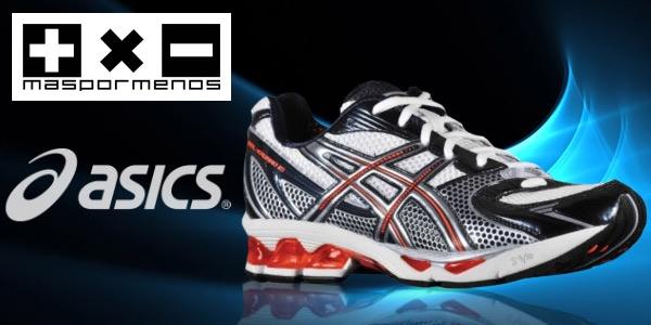 ofertas en zapatillas running Asics