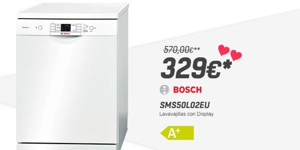 lavavajillas Bosch SMS50L02EU barato
