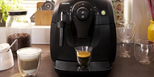 cafetera espresso super automatica philips hd8651