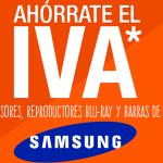 Día Sin IVA Samsung