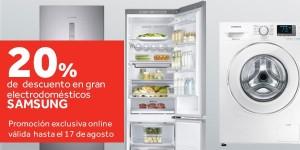 ofertas en electrodomésticos Samsung