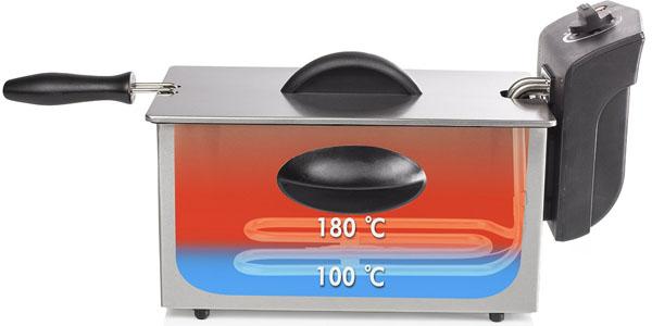 freidora 2000w 3litros tristar fr6935 temperatura